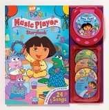 Nick JR. Dora the Explorer Music Player and Storybook