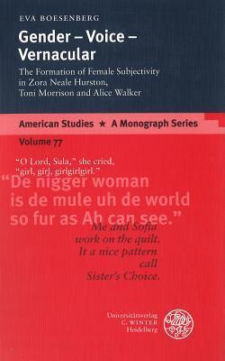 Gender - Voice - Vernacular