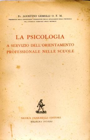 La psicologia a servizio dell'orientamento professionale nelle scuole