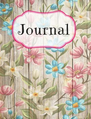 Flowers Pastel Pattern Notebook