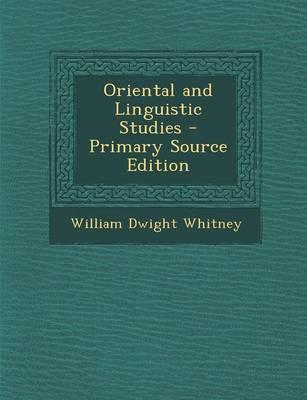 Oriental and Linguis...