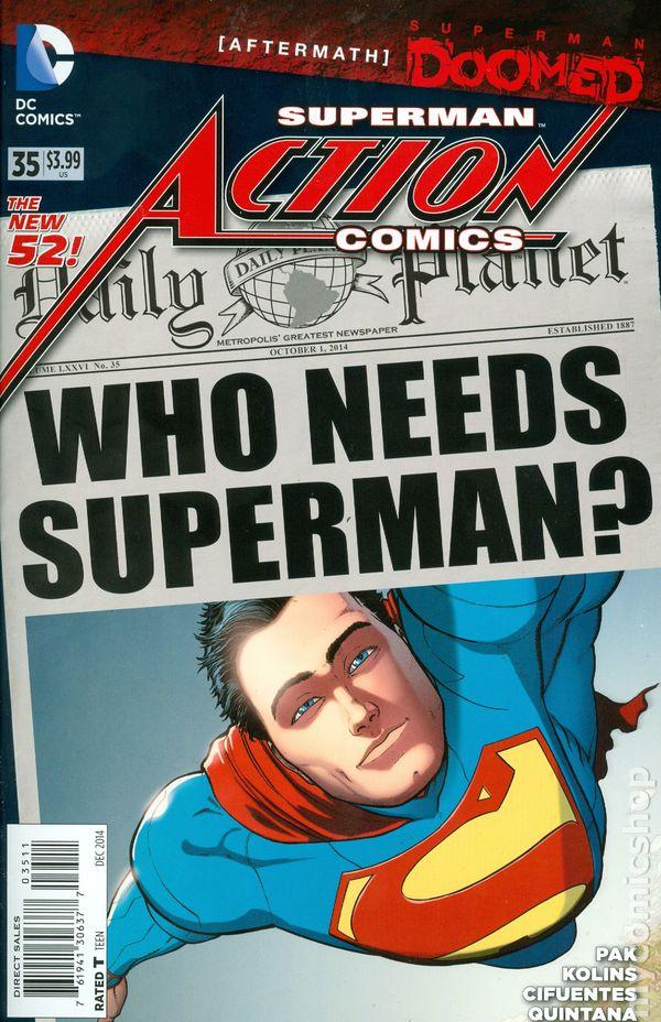 Action Comics Vol.2 #35