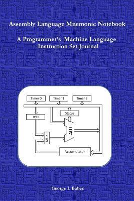 Assembly Language Mnemonic Notebook