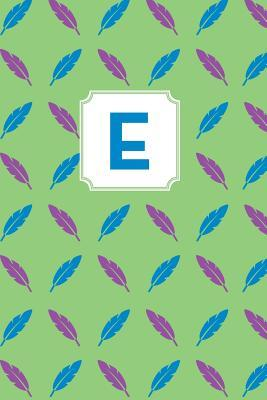 Letter E Personalized Journal
