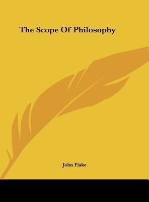 The Scope of Philosophy