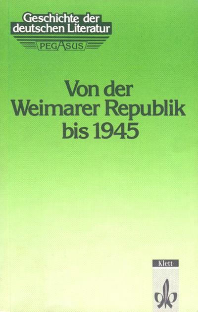 Geschichte der deutschen Literatur, 5