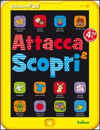 Attacca & scopri. Con adesivi. StickersPad
