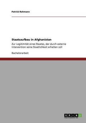 Staatsaufbau in Afghanistan