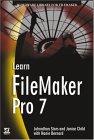 Learn FileMaker Pro 7