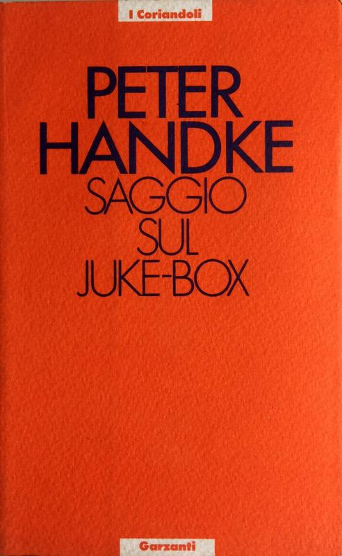 Saggio sul juke-box ...