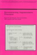 Reconstructing Argumentative Discourse