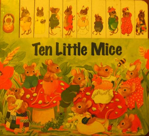 Register B/B 1 - 10 Little Mice
