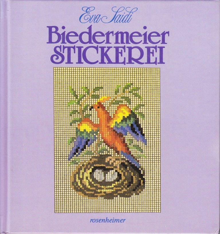Biedermeier Stickerei