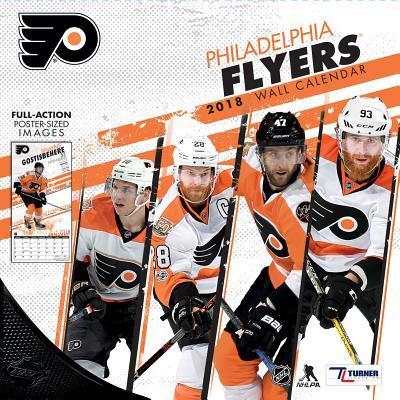 Philadelphia Flyers 2018 Calendar