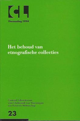 Het behoud van etnografische collecties