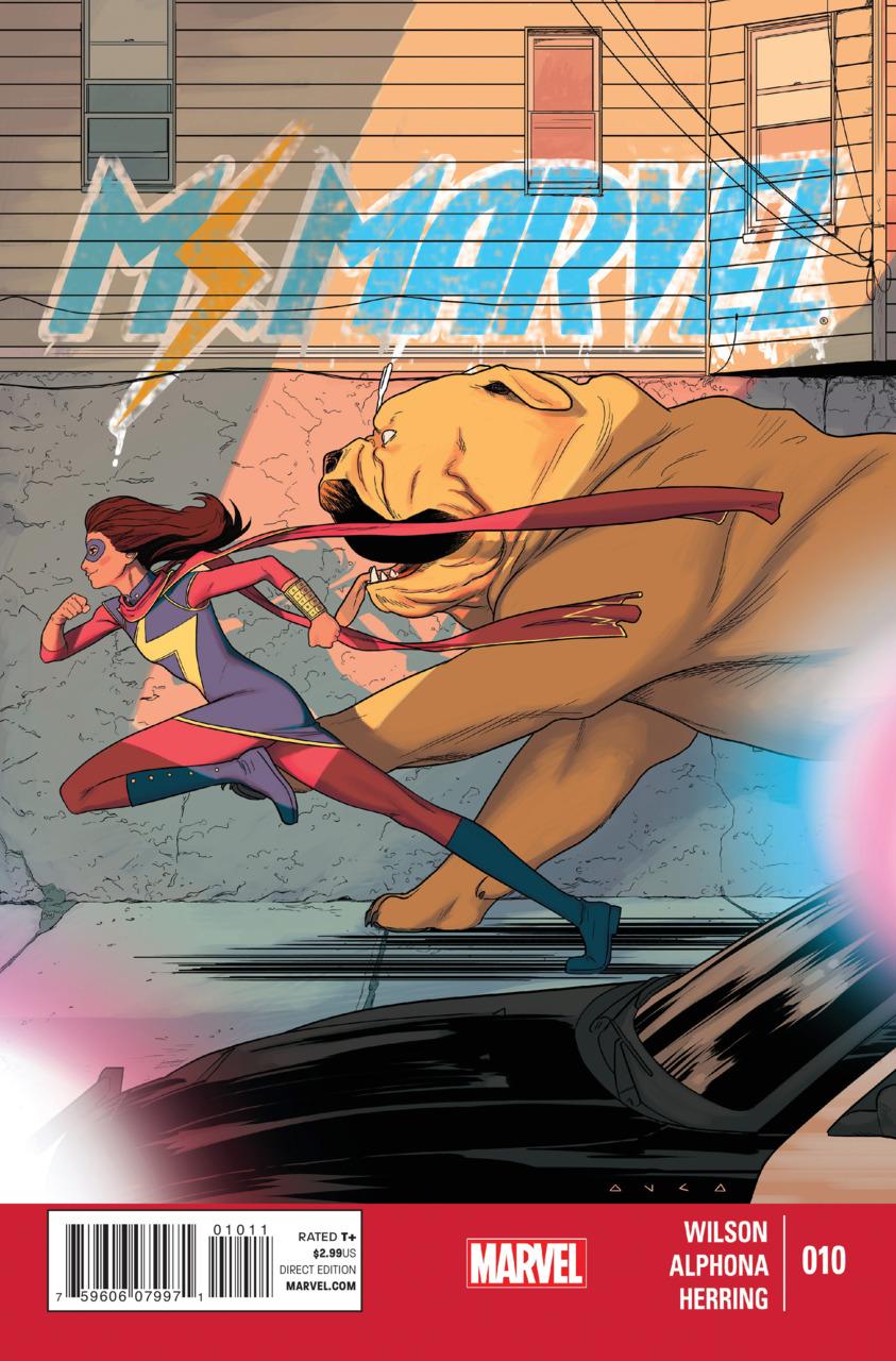 Ms. Marvel Vol.3 #10