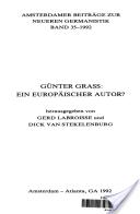 Günter Grass, ein europäischer Autor?