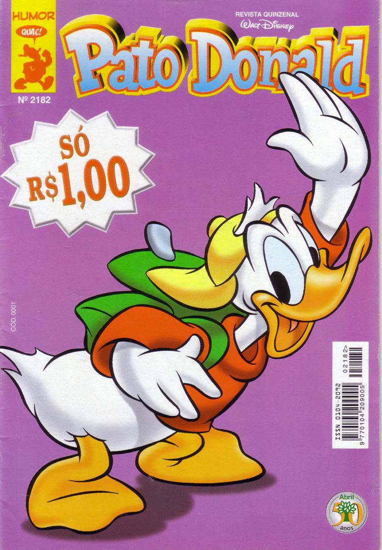 Pato Donald nº 2182