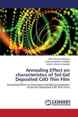 Annealing Effect on characteristics of Sol-Gel Deposited CdO Thin Film