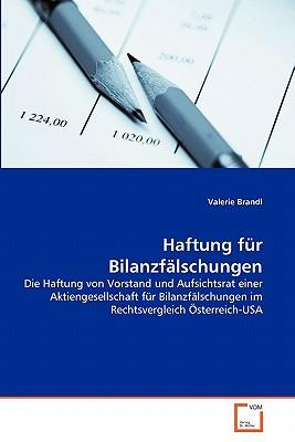 Haftung für Bilanzfälschungen