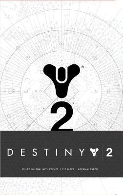 Destiny 2 Hardcover Ruled Journal