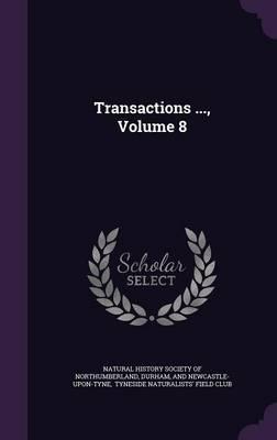 Transactions ..., Volume 8