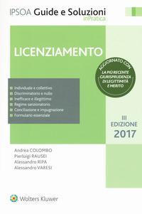 Licenziamento. Con Contenuto digitale per download e accesso on line
