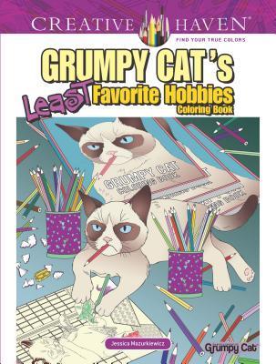 Creative Haven Grumpy Cat's Least Favorite Hobbies Coloring Book