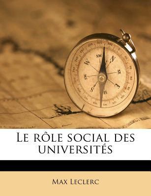Le Role Social Des U...