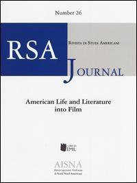 RSA journal. Rivista di studi americani