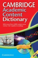 Camb Academic Content Dict with CD