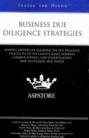 Business Due Diligence Strategies