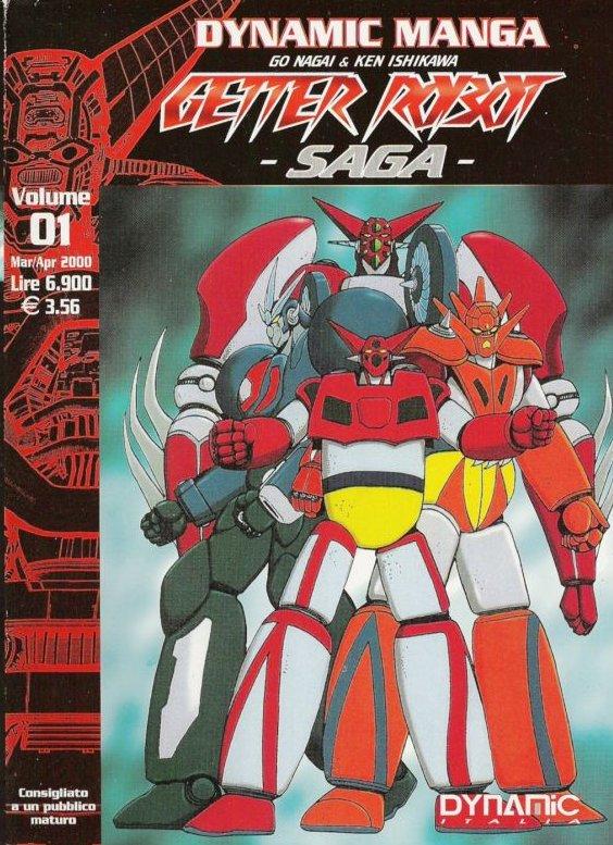 Getter Robot n.01