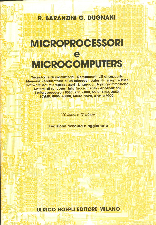 Microprocessori e Microcomputers