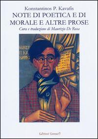 Note di poetica e di morale e altre prose