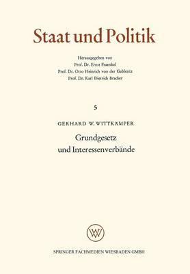 Grundgesetz Und Interessenverbände