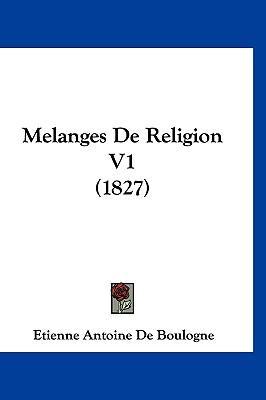 Melanges de Religion V1 (1827)