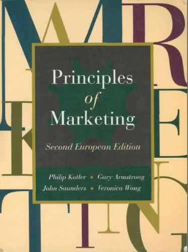 Principles of Marketing Euro Edition