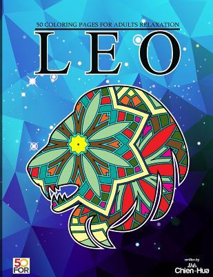 Leo 50 Coloring Pages for Adults Relaxation