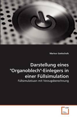 """Darstellung eines """"Organoblech""""-Einlegers in einer Füllsimulation"""