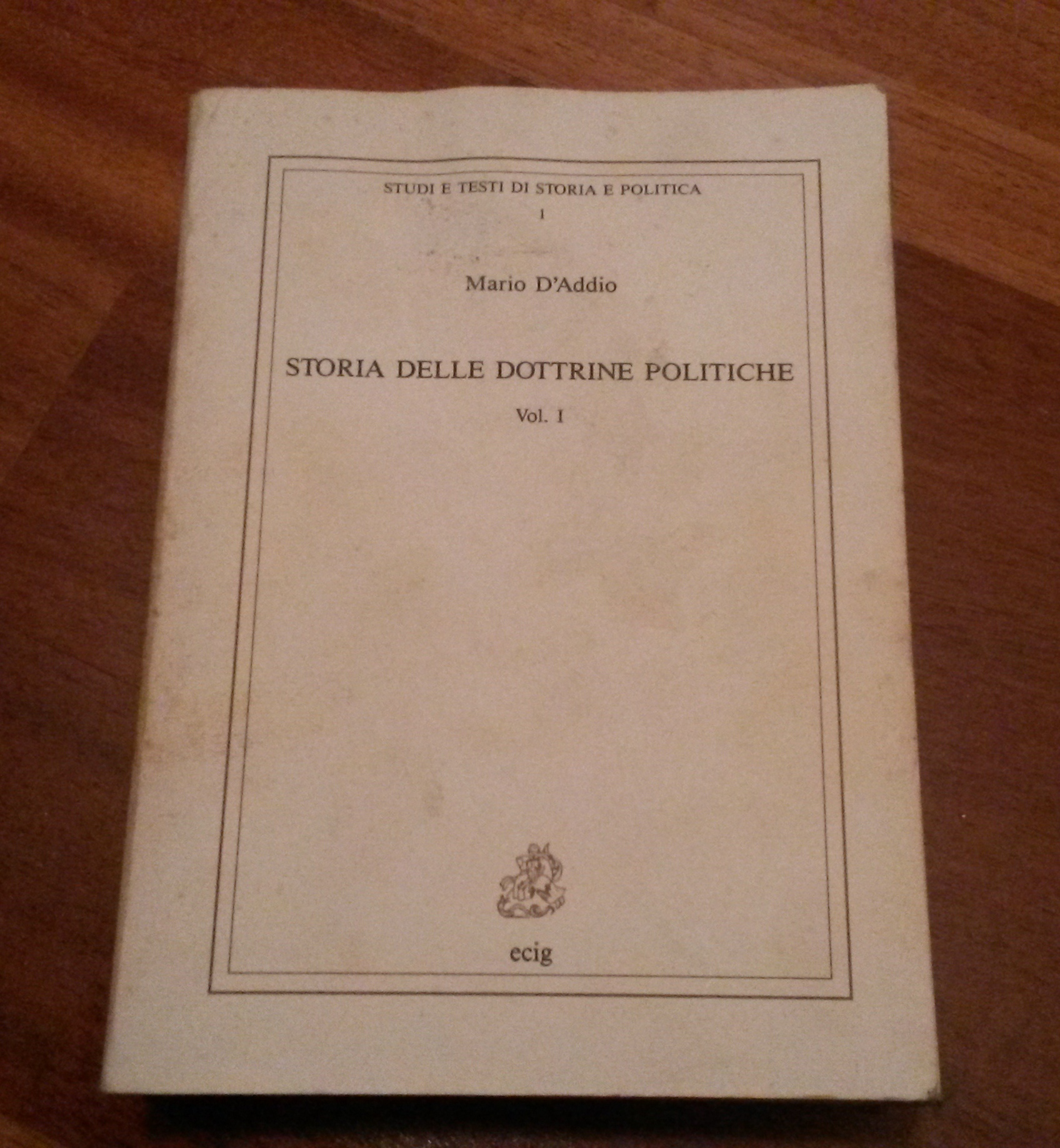Appunti di storia delle dottrine politiche