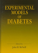 Experimental Models of Diabetes