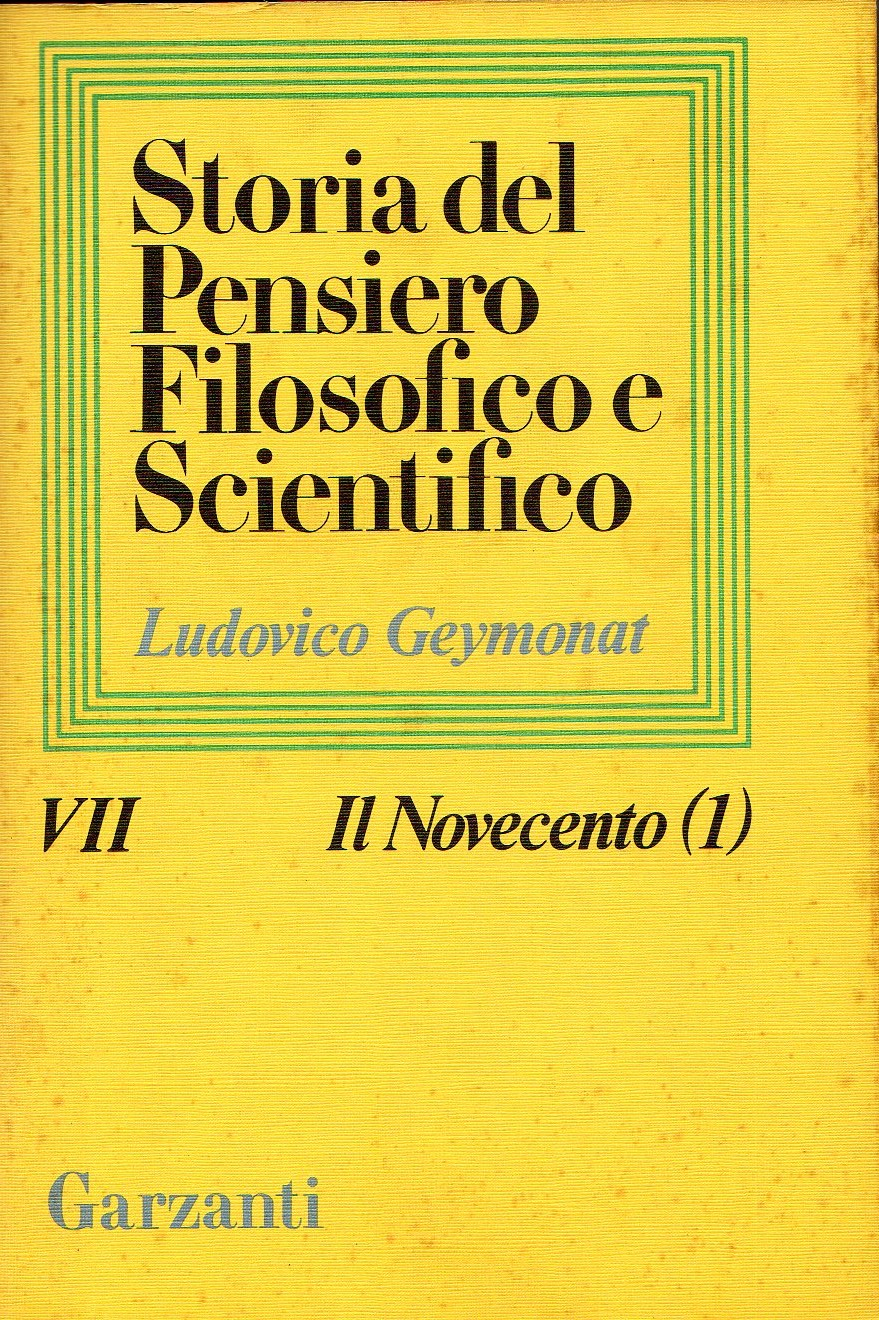 Storia del pensiero filosofico e scientifico - Vol. 7
