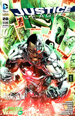 Justice League n. 20