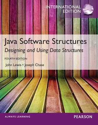 Java Software Structures,International Edition