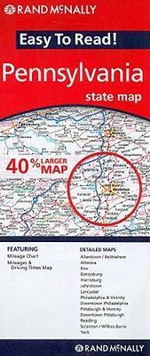 Rand Mcnally Easy to Read! Pennsylvania