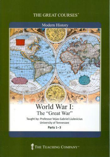 World War I, the Great War