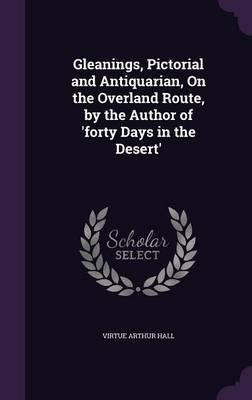 Gleanings, Pictorial and Antiquarian, on the Overland Route, by the Author of 'Forty Days in the Desert'