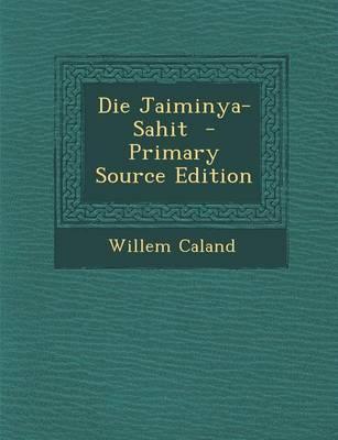 Die Jaiminya-Sahit