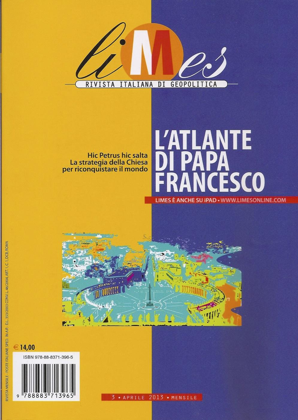 Limes. Rivista italiana di geopolitica (aprile 2013)